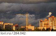 Надвигающиеся стихия (2007 год). Стоковое фото, фотограф Дмитрий Зуев / Фотобанк Лори