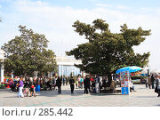 Купить «Ялта, набережная», эксклюзивное фото № 285442, снято 20 апреля 2008 г. (c) Дмитрий Неумоин / Фотобанк Лори