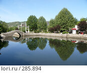 Мост над озером. Стоковое фото, фотограф Комоедова Зоя Николаевна / Фотобанк Лори