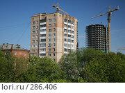 Купить «Город строится», эксклюзивное фото № 286406, снято 8 мая 2008 г. (c) Игорь Веснинов / Фотобанк Лори