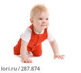 Купить «Малыш 7 месяцев», фото № 287874, снято 29 февраля 2008 г. (c) Вадим Пономаренко / Фотобанк Лори