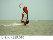 Виндсерфинг, фото № 289010, снято 4 мая 2008 г. (c) Сергей Литвиненко / Фотобанк Лори