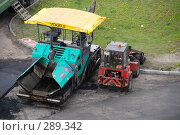 Купить «Техника для укладки асфальта», фото № 289342, снято 18 мая 2008 г. (c) Екатерина Овсянникова / Фотобанк Лори
