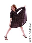 Купить «Маленькая модель», фото № 290322, снято 13 апреля 2007 г. (c) Гладских Татьяна / Фотобанк Лори