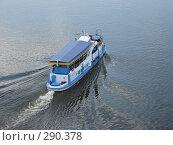 Купить «Прогулочный катер на Оке. Вид сверху», фото № 290378, снято 11 мая 2008 г. (c) Дмитрий Глебов / Фотобанк Лори