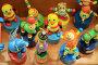 Деревянные разноцветные игрушки, эксклюзивное фото № 291838, снято 29 апреля 2008 г. (c) Juliya Shumskaya / Blue Bear Studio / Фотобанк Лори
