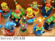 Купить «Деревянные разноцветные игрушки», эксклюзивное фото № 291838, снято 29 апреля 2008 г. (c) Juliya Shumskaya / Blue Bear Studio / Фотобанк Лори
