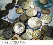 Россыпь денег. Стоковое фото, фотограф Павел Филатов / Фотобанк Лори
