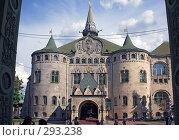 Купить «Здание Государственного банка в Нижнем Новгороде», фото № 293238, снято 20 мая 2008 г. (c) Igor Lijashkov / Фотобанк Лори