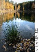Купить «Осень на озере», фото № 294122, снято 7 октября 2007 г. (c) Gagara / Фотобанк Лори