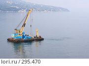 Купить «Морской транспорт. Кран», эксклюзивное фото № 295470, снято 2 мая 2008 г. (c) Дмитрий Неумоин / Фотобанк Лори