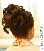 Купить «Прическа», фото № 296018, снято 16 мая 2008 г. (c) Юля Тюмкая / Фотобанк Лори