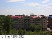 Купить «Томск. Вид с  Обруба.», фото № 296382, снято 22 мая 2008 г. (c) Андрей Николаев / Фотобанк Лори