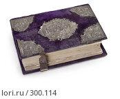Декоративное оформление старой печатной Библии. Стоковое фото, фотограф Harry / Фотобанк Лори