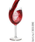 Купить «Вино льется в бокал», фото № 303090, снято 12 января 2007 г. (c) Роман Сигаев / Фотобанк Лори
