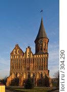 Купить «Кафедральный собор. Калининград», фото № 304290, снято 30 декабря 2007 г. (c) Liseykina / Фотобанк Лори