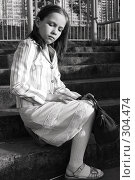 Фотография 10-летней девочки. Стоковое фото, фотограф Варвара Воронова / Фотобанк Лори
