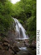 Купить «Водопад Джур-Джур (Крым, село Генеральское)», фото № 304842, снято 23 мая 2008 г. (c) Олег Титов / Фотобанк Лори