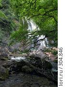 Купить «Водопад Джур-Джур (Крым, село Генеральское)», фото № 304846, снято 23 мая 2008 г. (c) Олег Титов / Фотобанк Лори