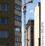 Купить «Стройка», фото № 305074, снято 25 сентября 2018 г. (c) Куракевич Иван / Фотобанк Лори