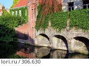 Купить «Бельгийская Венеция. Город Брюгге.», фото № 306630, снято 20 мая 2019 г. (c) Николай Винокуров / Фотобанк Лори
