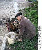 Купить «Сельский быт», фото № 307966, снято 27 мая 2008 г. (c) Эдуард Кольга / Фотобанк Лори