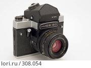Старый фотоаппарат (2008 год). Редакционное фото, фотограф Юрий Пономарёв / Фотобанк Лори