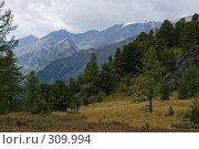 Алтайские горы, фото № 309994, снято 26 сентября 2017 г. (c) Андрей Пашкевич / Фотобанк Лори