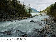 Купить «Горная река», фото № 310046, снято 14 ноября 2018 г. (c) Андрей Пашкевич / Фотобанк Лори
