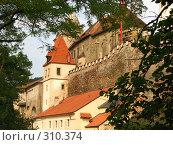 Замок Кршивоклат (2007 год). Стоковое фото, фотограф Алексей Иванов / Фотобанк Лори
