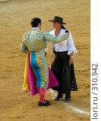 Купить «Коррида», фото № 310942, снято 13 августа 2006 г. (c) Знаменский Олег / Фотобанк Лори