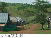 Купить «Деревня», фото № 312194, снято 24 мая 2008 г. (c) Талдыкин Юрий / Фотобанк Лори