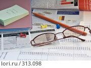 Рабочий стол. Стоковое фото, фотограф Ольга Ковальчук / Фотобанк Лори