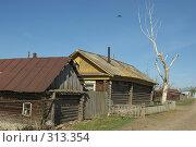 Купить «Деревенский  дом», фото № 313354, снято 19 мая 2008 г. (c) Талдыкин Юрий / Фотобанк Лори