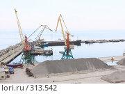 Купить «Ялта.Грузовой порт.», эксклюзивное фото № 313542, снято 2 мая 2008 г. (c) Дмитрий Неумоин / Фотобанк Лори
