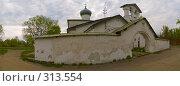 Купить «Церковь Нерукотворного Образа на запсковье. Псков», фото № 313554, снято 27 мая 2018 г. (c) Liseykina / Фотобанк Лори