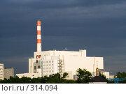 Купить «Мусоросжигательный завод в Москве», фото № 314094, снято 6 июня 2008 г. (c) Донцов Евгений Викторович / Фотобанк Лори