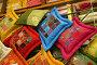 Индийские подушки. Ручная работа, фото № 314150, снято 13 марта 2008 г. (c) Gagara / Фотобанк Лори