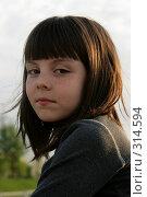 Купить «Фотография 10-летней девочки», фото № 314594, снято 5 мая 2008 г. (c) Варвара Воронова / Фотобанк Лори