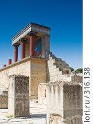 Купить «Руины древнего Кносского дворца, северный вход. Крит, Греция», фото № 316138, снято 3 мая 2008 г. (c) Галина Лукьяненко / Фотобанк Лори