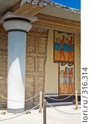 Купить «Руины древнего Кносского дворца, Крит, Греция», фото № 316314, снято 3 мая 2008 г. (c) Галина Лукьяненко / Фотобанк Лори