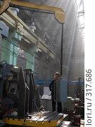 Купить «В цеху завода», фото № 317686, снято 5 июня 2008 г. (c) Виктор Филиппович Погонцев / Фотобанк Лори