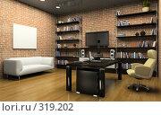 Купить «Интерьер частного офиса», иллюстрация № 319202 (c) Hemul / Фотобанк Лори