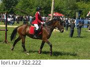 Купить «Конкур», фото № 322222, снято 12 июня 2008 г. (c) Талдыкин Юрий / Фотобанк Лори