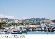 Купить «Панорама города. Канны. Франция.», фото № 322906, снято 13 июня 2008 г. (c) Екатерина Овсянникова / Фотобанк Лори