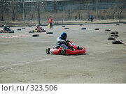 Купить «Картингист», фото № 323506, снято 1 апреля 2007 г. (c) Денис Дряшкин / Фотобанк Лори