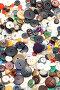 Множество разноцветных пуговиц крупно, фото № 325234, снято 16 июня 2008 г. (c) Угоренков Александр / Фотобанк Лори