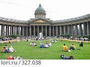 Купить «Санкт-Петербург. Казанский собор.», фото № 327038, снято 6 августа 2005 г. (c) Александр Секретарев / Фотобанк Лори