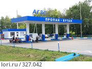 Купить «Автозаправочная станция», эксклюзивное фото № 327042, снято 12 июня 2008 г. (c) Дмитрий Неумоин / Фотобанк Лори