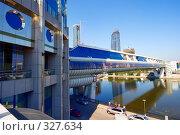 Купить «Пешеходный мост», фото № 327634, снято 12 июля 2007 г. (c) Михаил Лукьянов / Фотобанк Лори